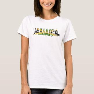 Jamaica afligiu a parte superior de tanque da camiseta