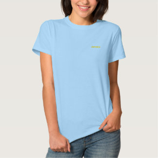 Jamaica Camiseta Polo Bordada Feminina