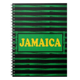 Jamaica colore o caderno moderno do desenhista