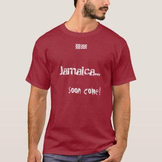 Jamaica… vindo logo! camiseta