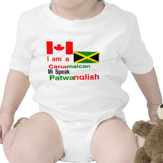 Jamaicano canadense tshirts