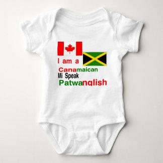 Jamaicano canadense t-shirt