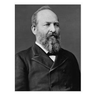 James A. Garfield Cartao Postal