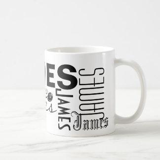 JAMES - personalize a caneca