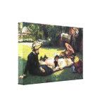 James Tissot - no sol Impressão Em Tela Canvas