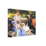 James Tissot - silêncio Impressão Em Tela Canvas