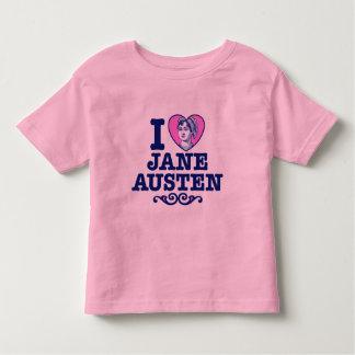 Jane Austen Camiseta Infantil