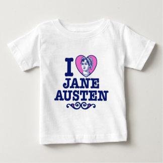 Jane Austen Camiseta Para Bebê