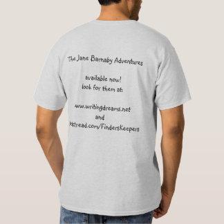 Jane Barnaby aventura-se o t-shirt