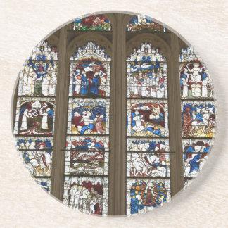 Janela do leste da igreja de York grande Porta Copos De Arenito