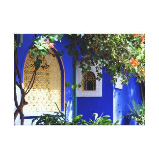 Janela marroquina impressão em tela