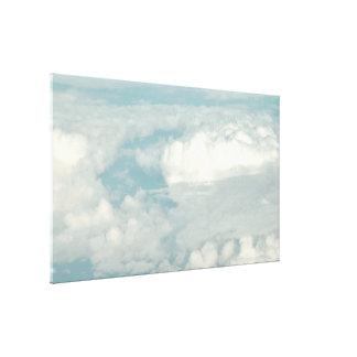 Janela Seat do ~ da nuvem 9 de PixDezines Impressão De Canvas Envolvida