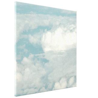 Janela Seat do ~ da nuvem 9 de PixDezines Impressão De Canvas Esticada