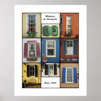 janelas de annapolis impressão