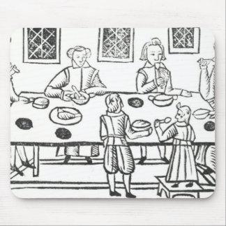 Jantando em casa, das baladas de Roxburghe Mouse Pad