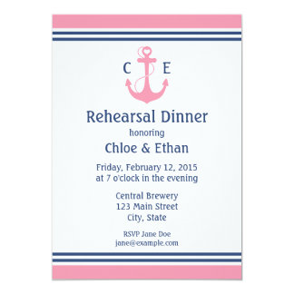 Jantar de ensaio náutico convites