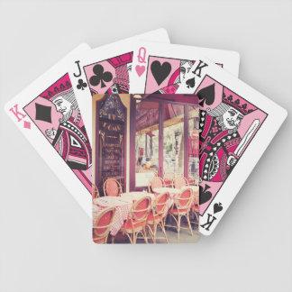 Jantar no fresco do Al de Paris Baralho Para Poker