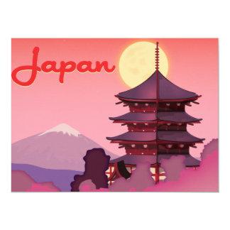 Japão Convite 16.51 X 22.22cm
