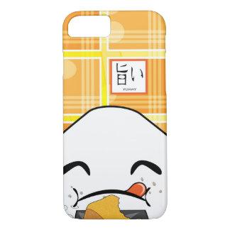 Japonês ávido engraçado Manga Onigiri Capa iPhone 7