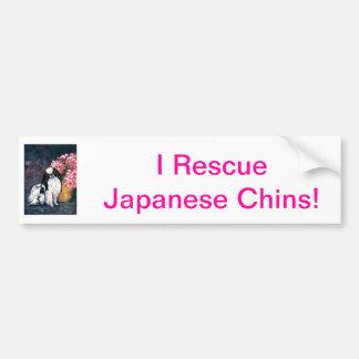 Japonês Chin Adesivos