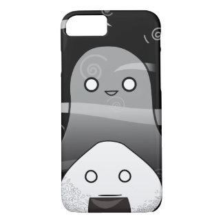 Japonês Manga Onigiri do Dia das Bruxas Capa iPhone 7