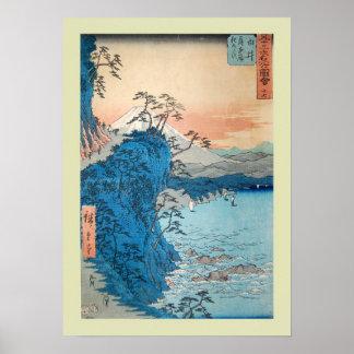 Japonês Woodblock Poster