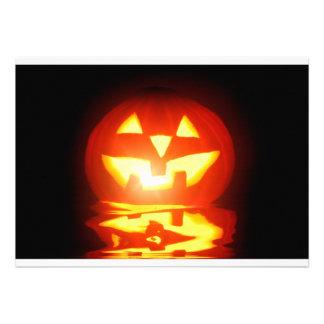 jaque-o-lanterna da abóbora do Dia das Bruxas Convites Personalizados