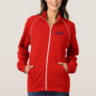 Jaqueta americana da menina