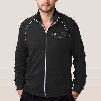 Jaqueta americana da trilha do velo do roupa dos