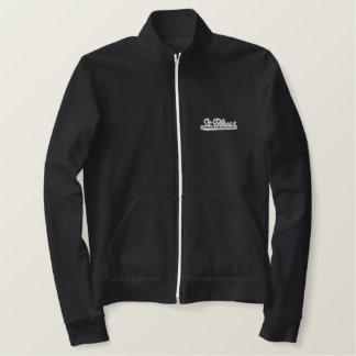 Jaqueta americana do velo do roupa - cinza