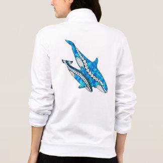 Jaqueta Baleias tribais da orca