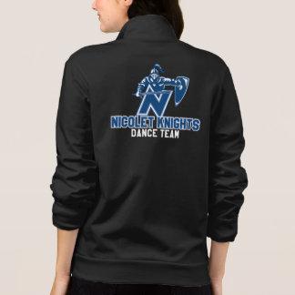 Jaqueta Basculador americano do roupa da equipe da dança