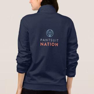 Jaqueta Basculador da nação do Pantsuit
