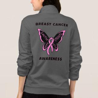 Jaqueta Borboleta/cancro da mama da consciência…