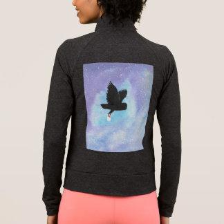 Jaqueta da coruja da entrega de correio