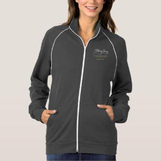 jaqueta da equipe do BlingSong das mulheres