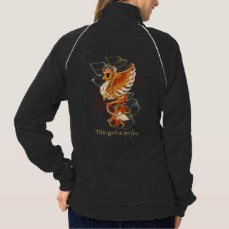 Jaqueta da trilha da prática de Phoenix