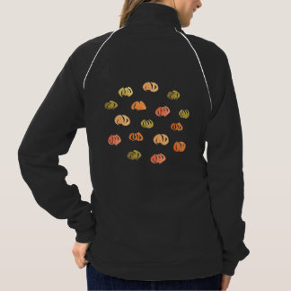 Jaqueta da trilha das mulheres da abóbora