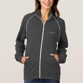 Jaqueta da trilha das mulheres jaqueta estampada