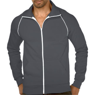 Jaqueta da trilha do velo da engrenagem do jaquetas para estampar