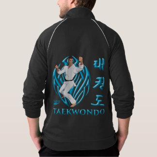 """Jaqueta da trilha do velo de Scolleta """"Taekwondo"""" Jaquetas Para Estampar"""