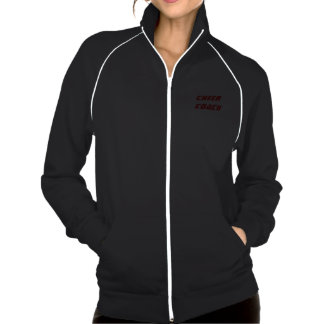 Jaqueta da trilha do velo do treinador do elogio d jaquetas estampadas