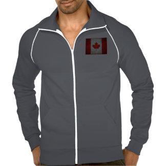 Jaqueta da trilha do velo dos homens jaquetas estampadas
