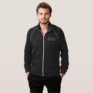 Jaqueta da trilha do velo dos homens - logotipo de