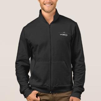 Jaqueta de esporte americana do velo do roupa -