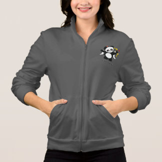 Jaqueta de Panda® do amor Jaqueta Estampada