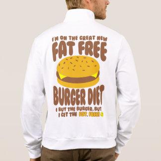 Jaqueta Dieta livre de gordura do hamburguer