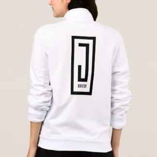 jaqueta do design do desgaste das senhoras j