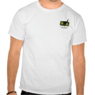 Jaqueta do roupa do Capoeira Brasil dos homens Camisetas