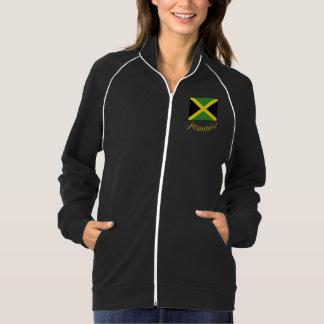 Jaqueta do velo de U Seet Jamaica Jaquetas Estampadas